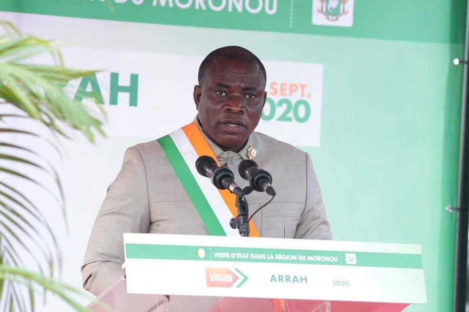 Visite d'etat,Alassane Ouattara,Moronou,Arrah