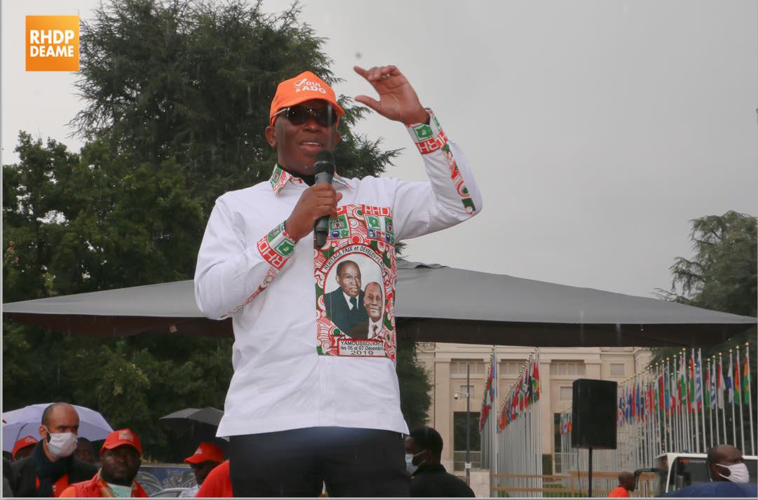 RHDP, Alassane Ouattara,  Diaby Lanciné,,Presidentielle 2020,