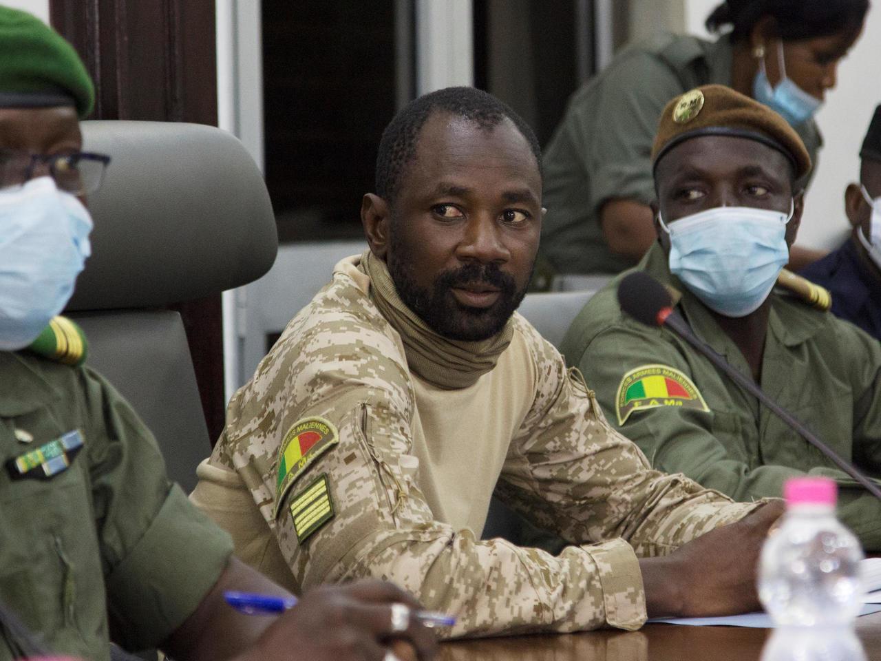 Mali,Transition,Charte