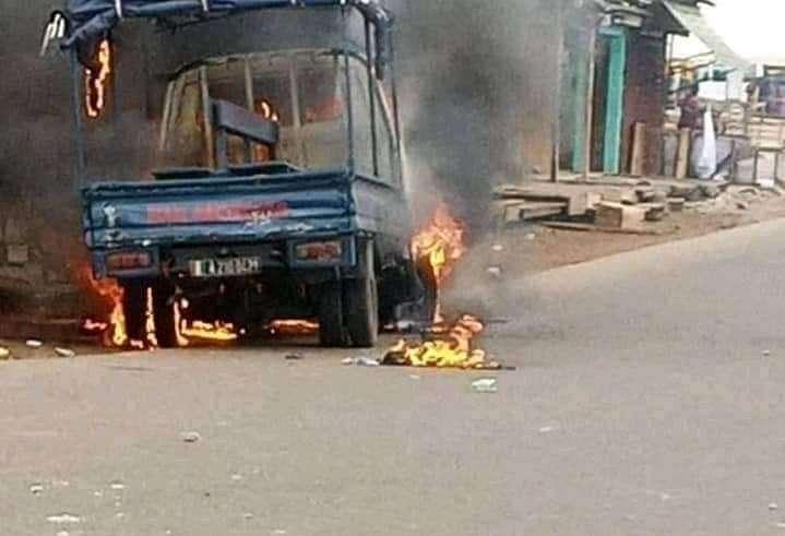 Gendarmerie,véhicule incendié,Yopougon
