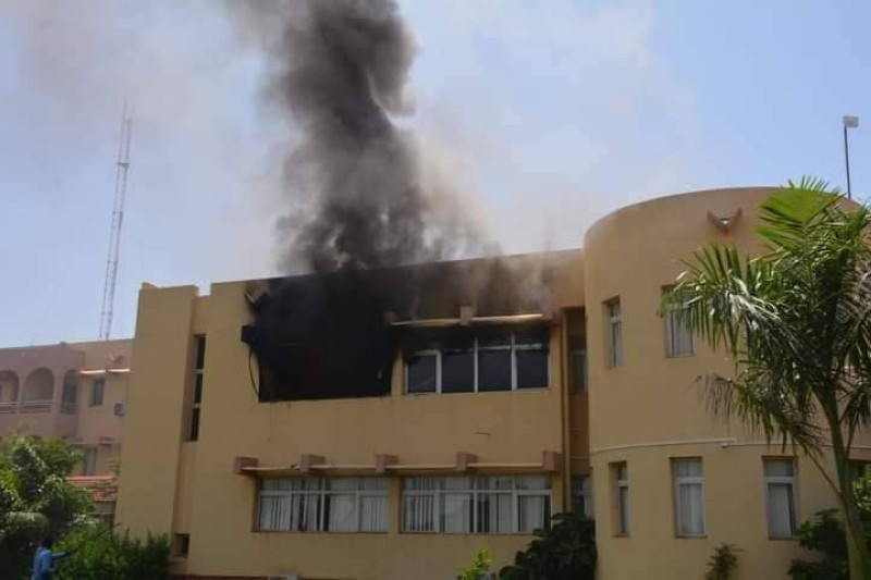 Burkina Faso,incendie,lundi,Assemblée National