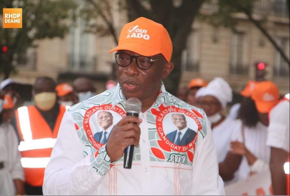 RHDP,  Alassane Ouattara,  Diaby Lanciné,  DEAME,  France,