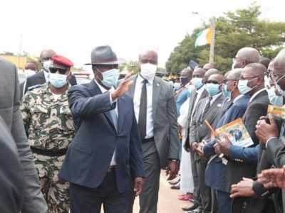 Visite d'Etat,Marahoué,Alassane Ouattara