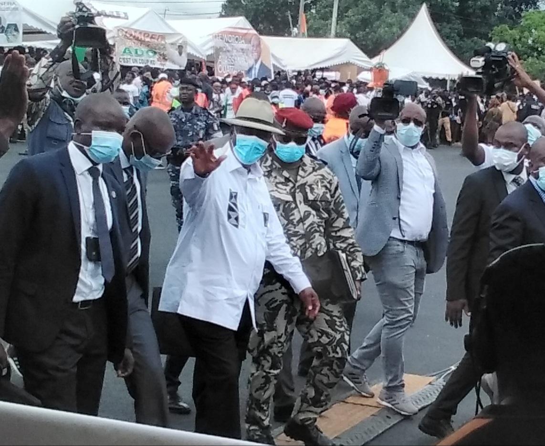 Visite d'Etat,chef de l'Etat,Marahoué,Bédié,Ouattara,Alassane Ouattara,Henri Konan Bédié