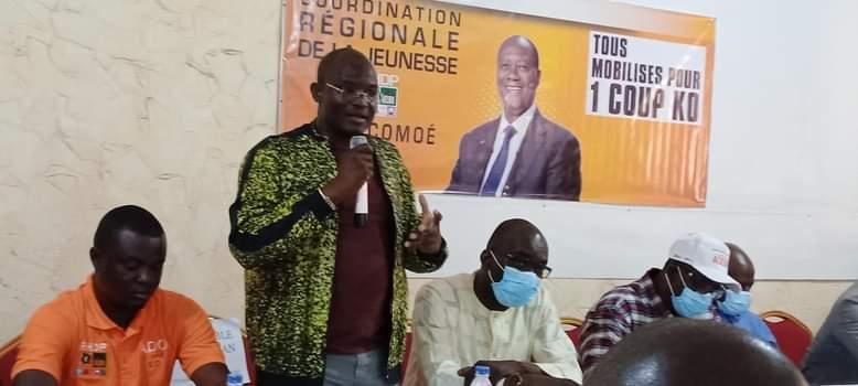 RHDP,Alassane Ouattara,Sud-Comoé,Hien Sié,Dah Sansan