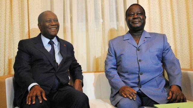 Alassane Ouattara,Henri Konan Bédié