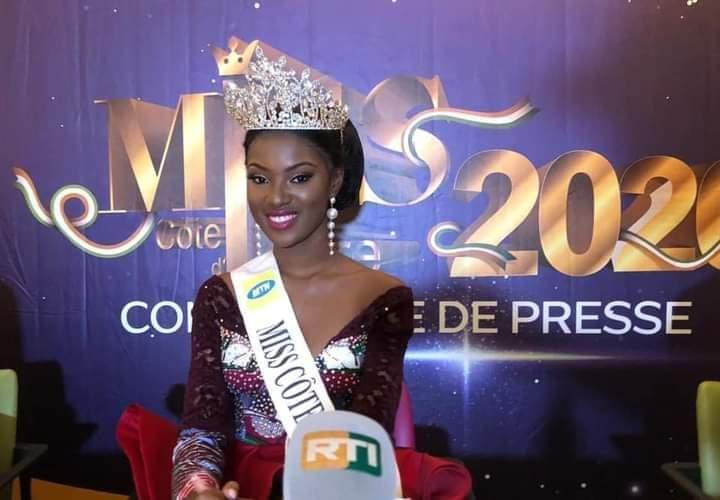 Miss Cote d'Ivoire, Maryline Kouadio,