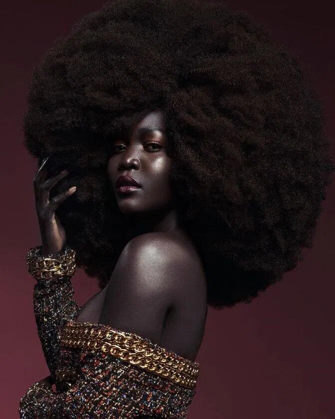 records-guiness-voici-la-femme-la-plus-noire-du-monde