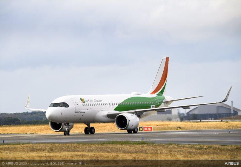 Transport aérien,Airbus,Air Côte d'Ivoire
