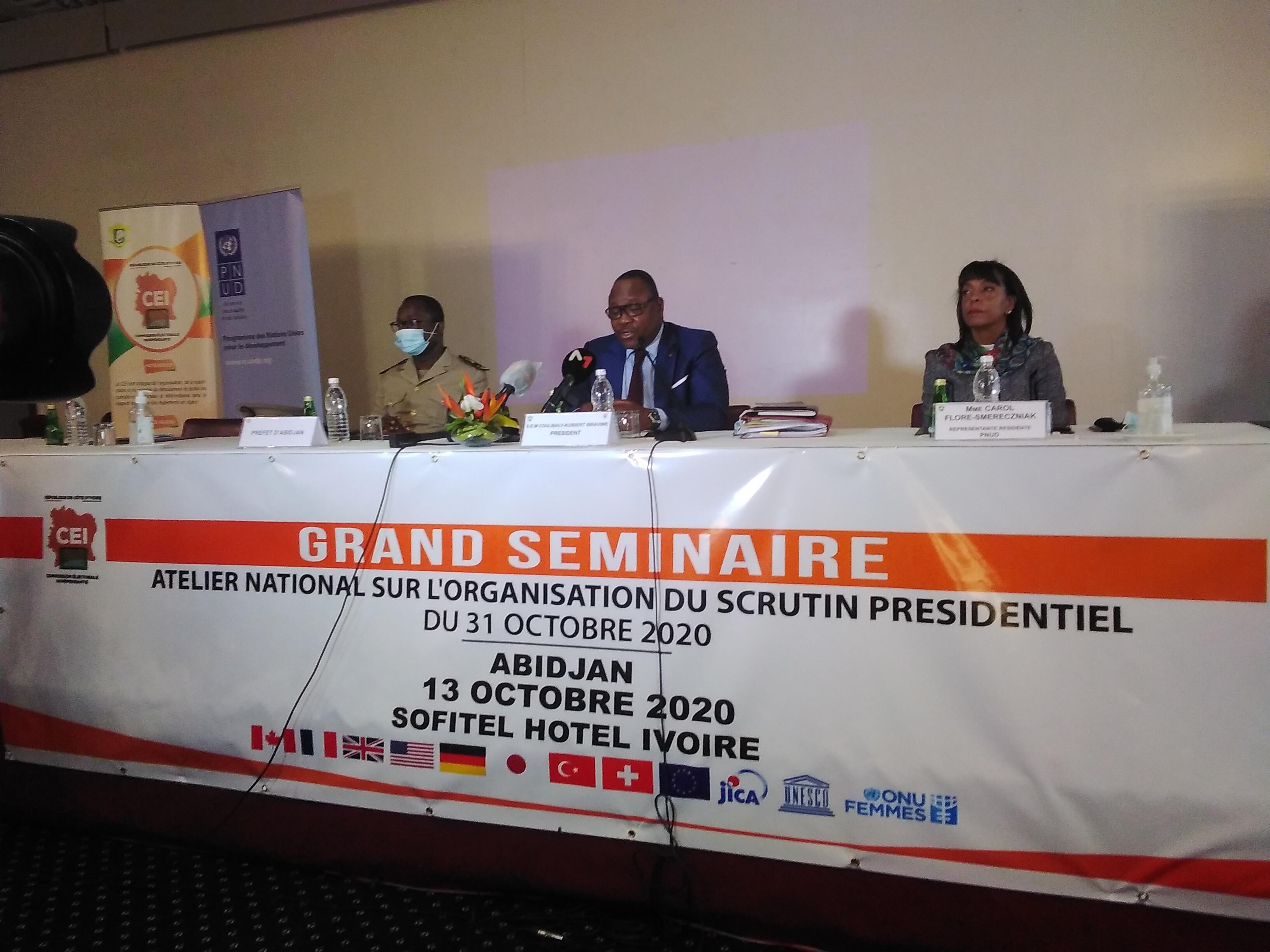 Présidentielle,CEI,Ibrahime Kuibiert,Pnud,Commission électorale indépendante