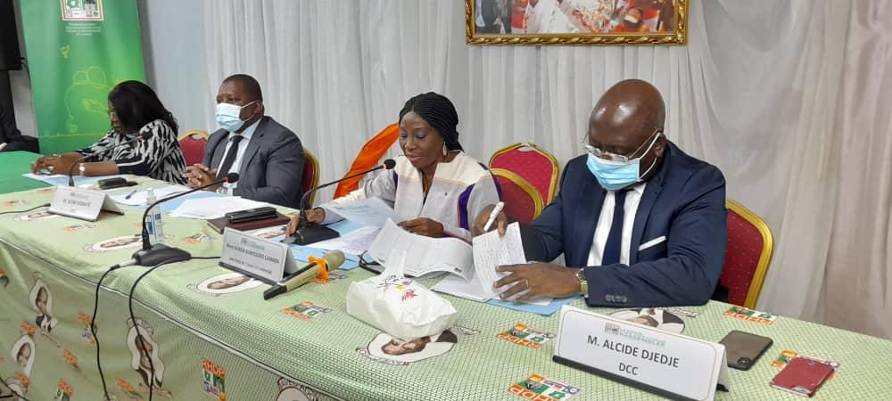 Campagne présidentielle,Kandia Camara,mobilisation,RHDP,Alassane Ouattara,RDR