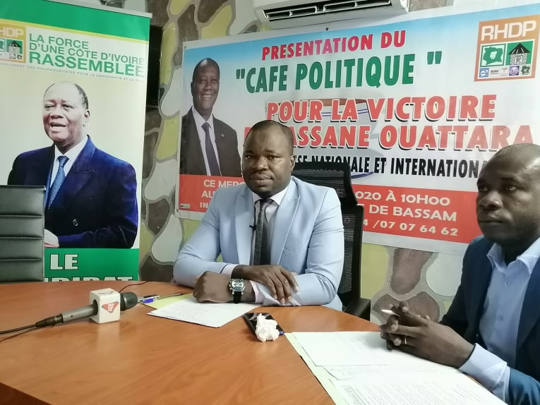 RHDP, Alassane,  Presidentielle 2020, Port Bouet,