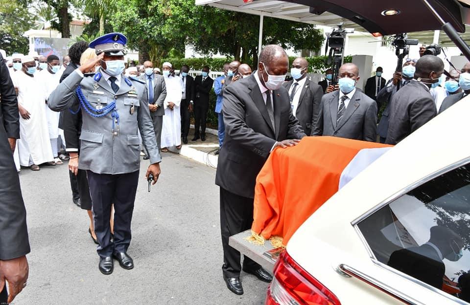 Obsèques Sidiki Diakité,Hommage de la Nation