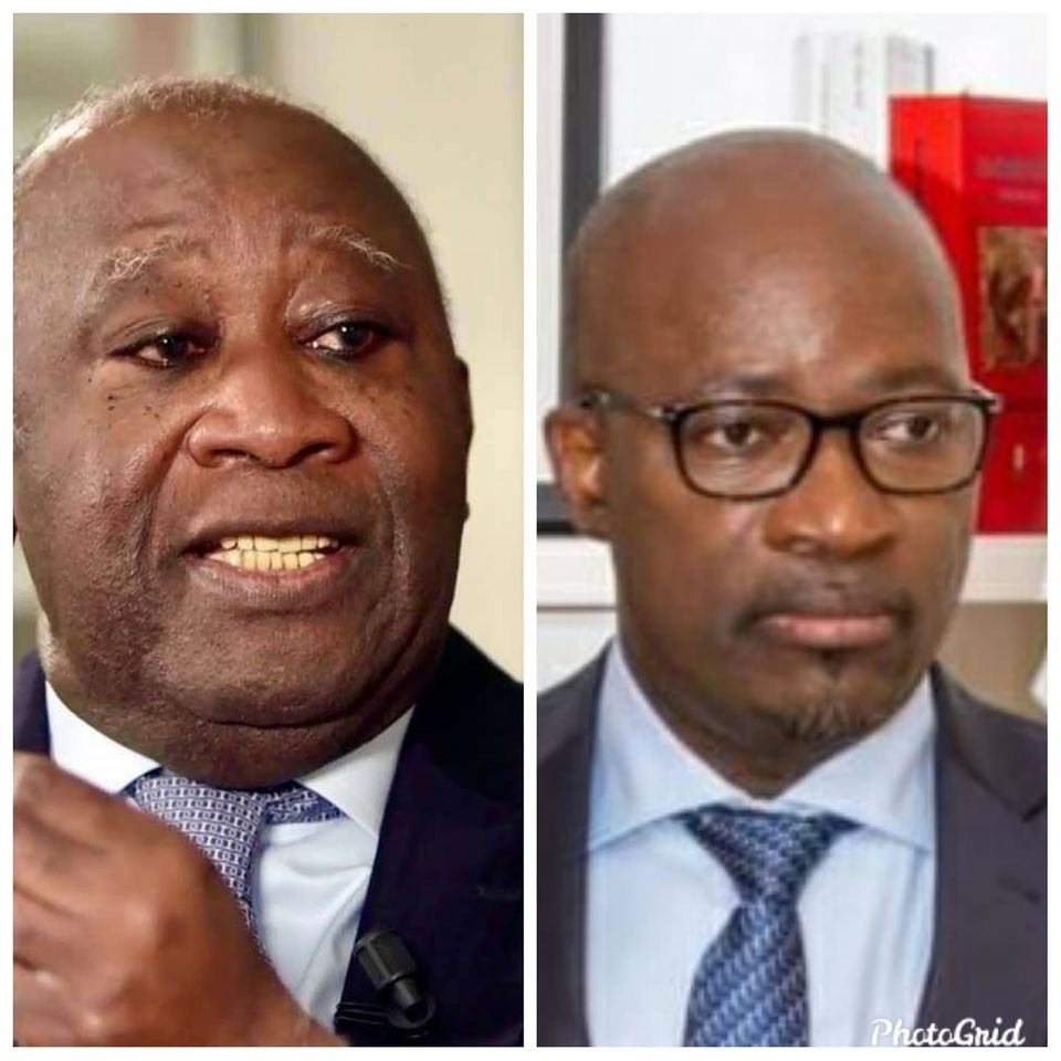 Blé Goudé,Laurent Gbagbo,Interview de Gbagbo