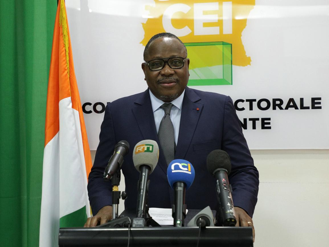 Présidentielle 2020,Scrutin du samedi 31 octobre 2020,CEI,Ibrahim Coulibaly Kuibiert