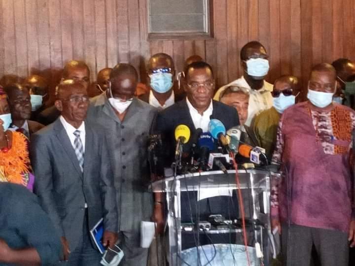 Situation sociopolitique,résidences,attaquées,opposition,Henri Konan Bédié,Affi N'Guessan,Mabri Toikeusse,Comité national de transition