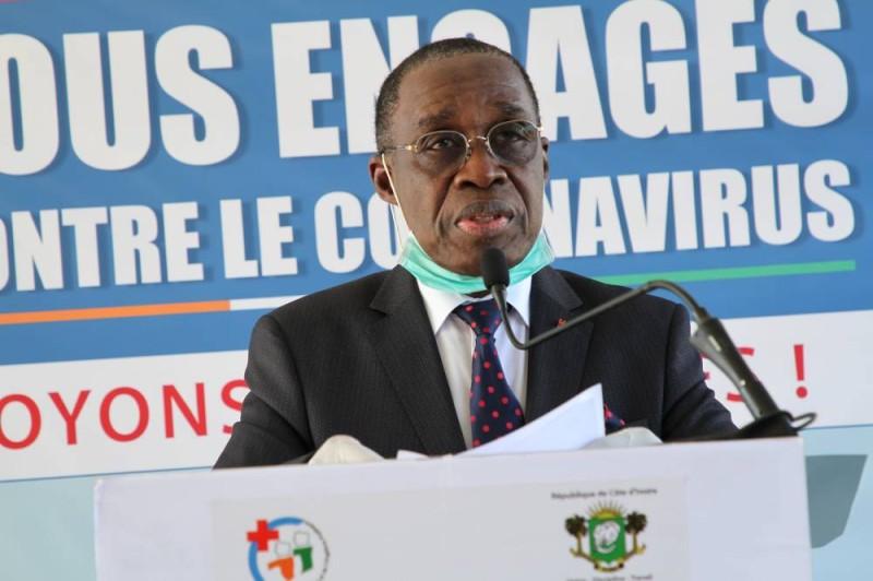 Covid-19,le point de la situation,vendredi 6 novembre 2020,Dr Eugène AKA AOUÉLÉ,Ministère de la Santé et de l'Hygiène publique