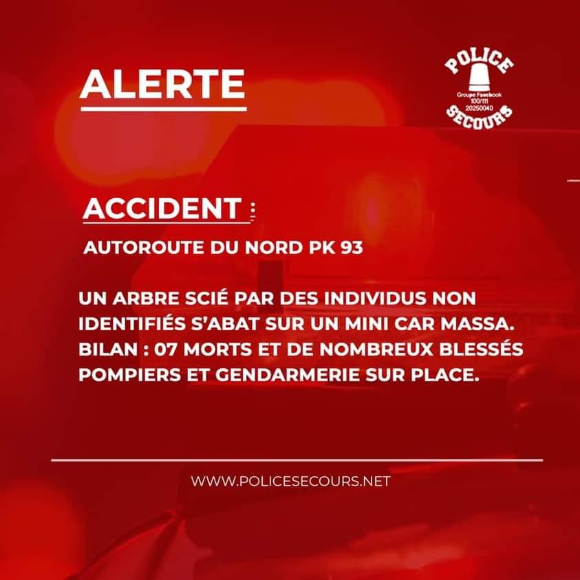 Accident  autoroute du nord, gendarmerie,  sapeurs- pompiers,