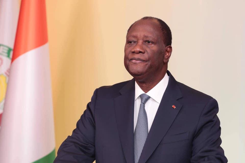 Alassane Ouattara,Président,Message à la nation,Présidentielle,Réélection de Ouattara