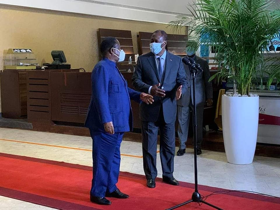 Rencontre Bédié-Ouattara,Cojep,Blé Goudé