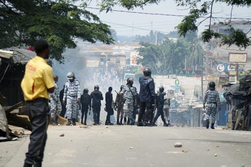 désobéissance civile,grève à Abidjan