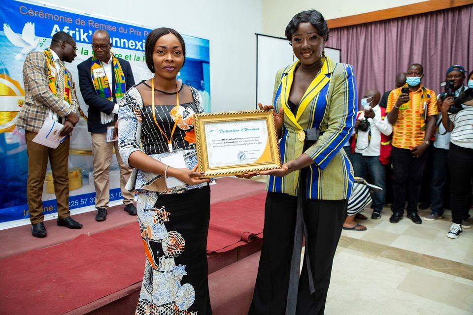 journee-nationale-de-la-paix-eunice-zunon-investie-ambassadrice