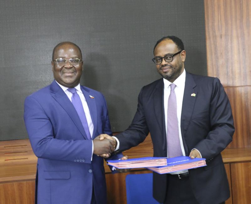 BRVM,Chambre de commerce américaine,signature partenariat,Edoh Kossi Amenounvé