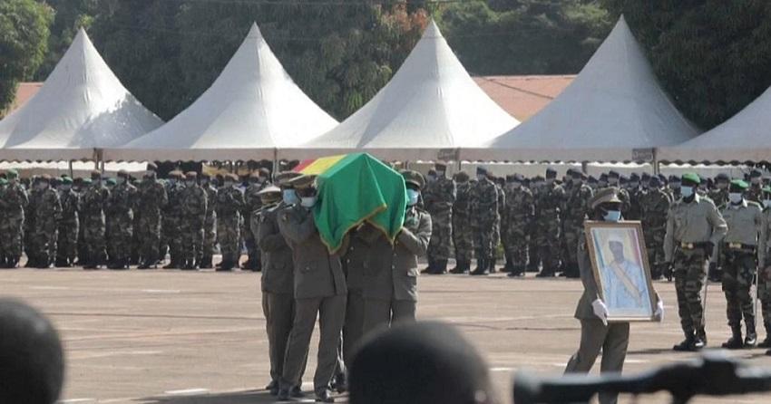 inhumation,de l' ex président du Mali,mardi 17novembre