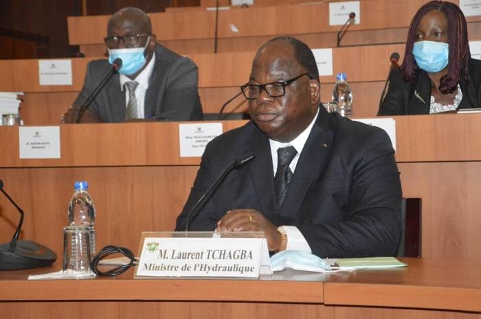 ministère de l'hydraulique,Laurent Tchagba,Budget