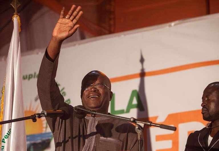 Présidentielle au Burkina Faso,Rock Marc Christian Kaboré réélu