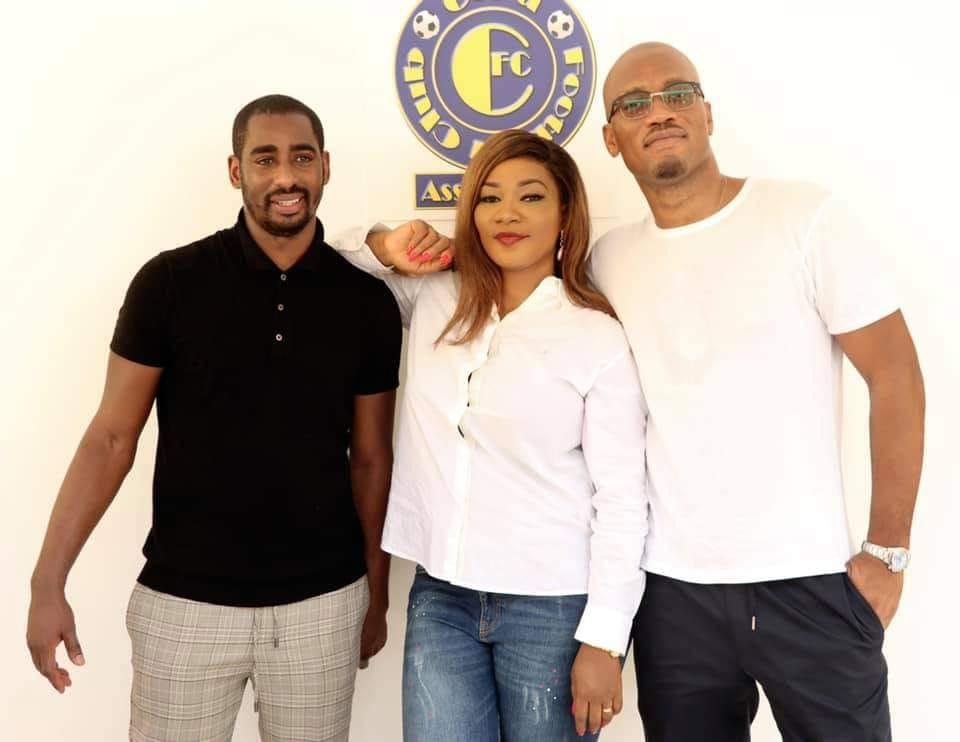Football,Copa Barry,Didier Drogba,Carolyne Da Silva