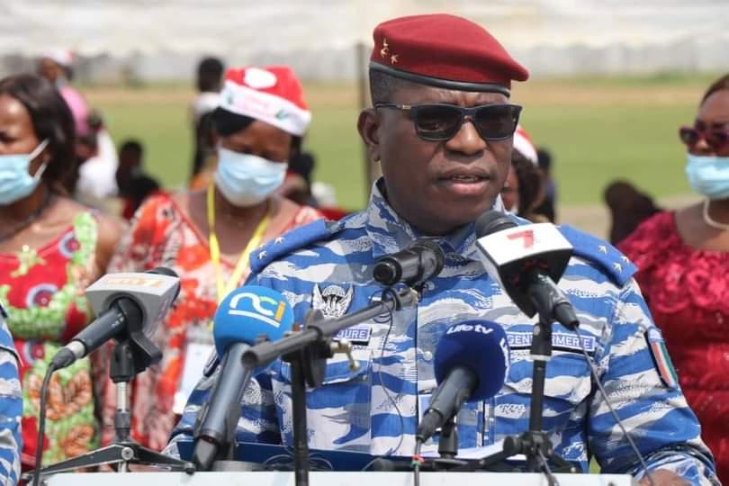 Gendarmerie nationale, Général de division Alexandre Apalo Touré,