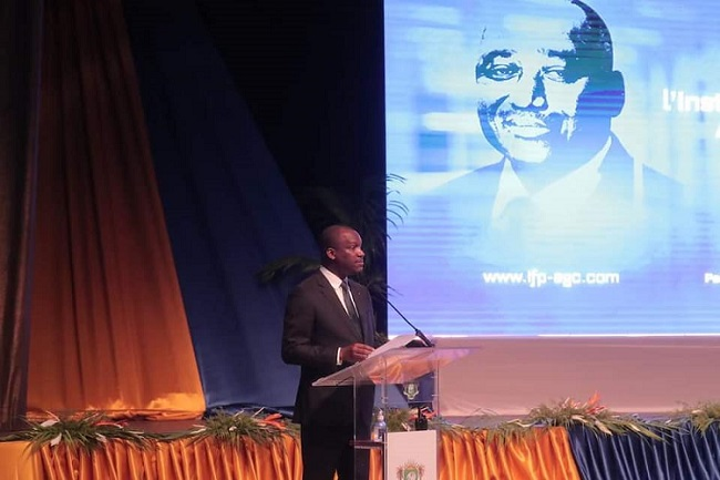Lancement Institut Amadou Gon Coulibaly,Alassane Ouattara,Touré Mamadou