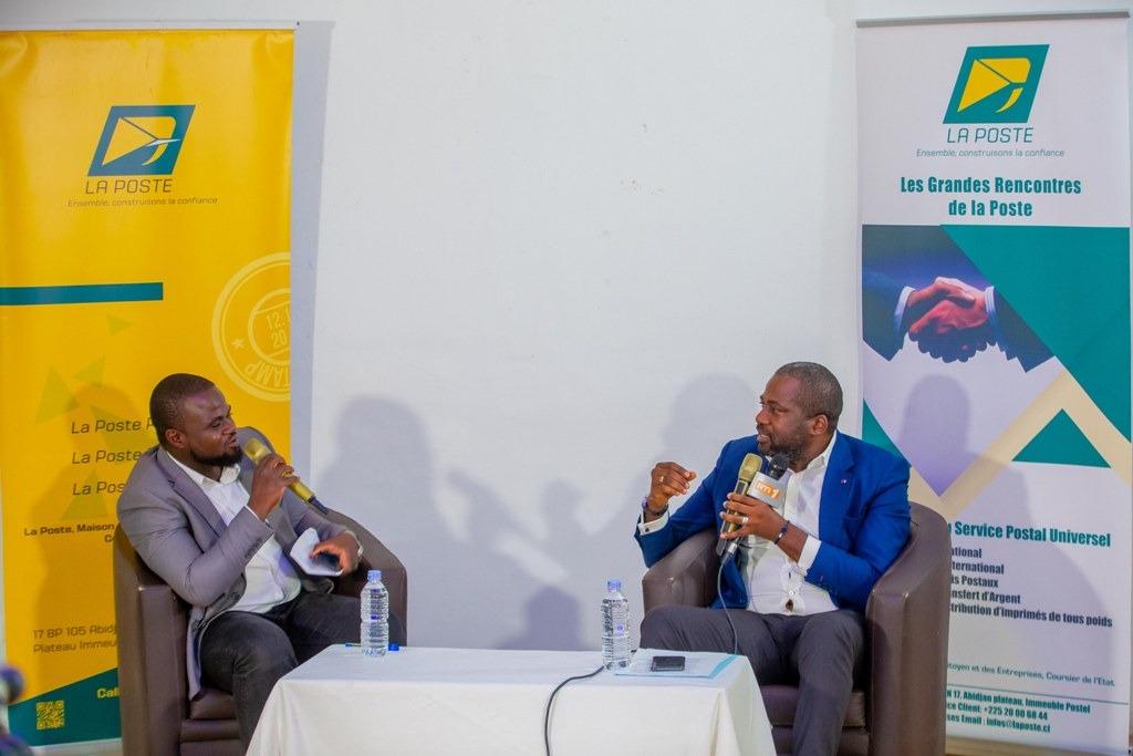 Secteur de la distribution,Isaac Gnamba-Yao,La Poste de Côte d'Ivoire