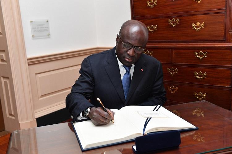 Marcel Amon Tanoh,Alassane Ouattara