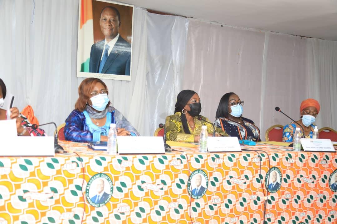 Législatives 2021,Kandia Camara,RHDP,100 %,femmes