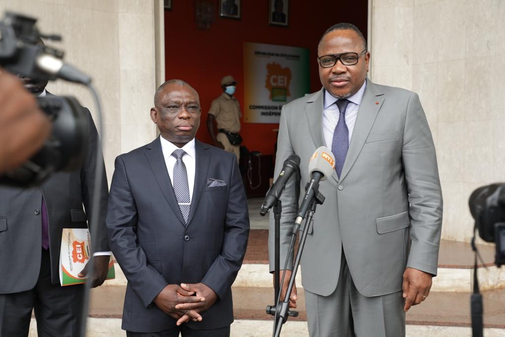 Kouadio Konan Bertin,Ibrahime Coulibaly-Kuibiert,KKB,CEI,ministre de la Réconciliation nationale