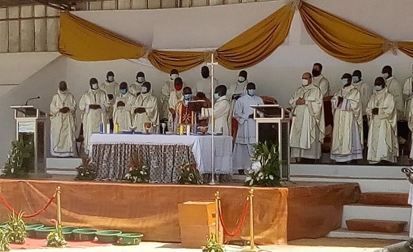 eglise-catholique-en-cote-divoire-mgr-ignace-bessi-installe-a-la-tete-de-larchidiocese-de-korhogo