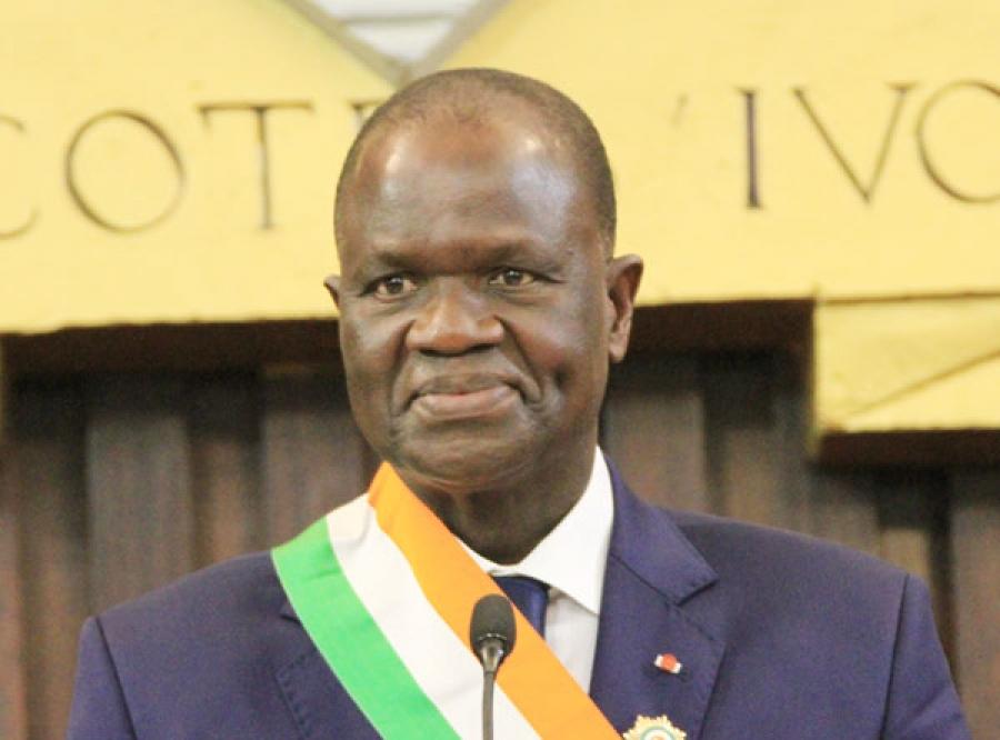 décès du président de l'Assemblée nationale,Amadou Soumahoro