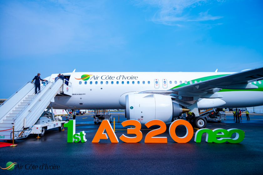 AIr Côte d'Ivoire,AIrbus,A320neo,ACtion caritatives,ONG