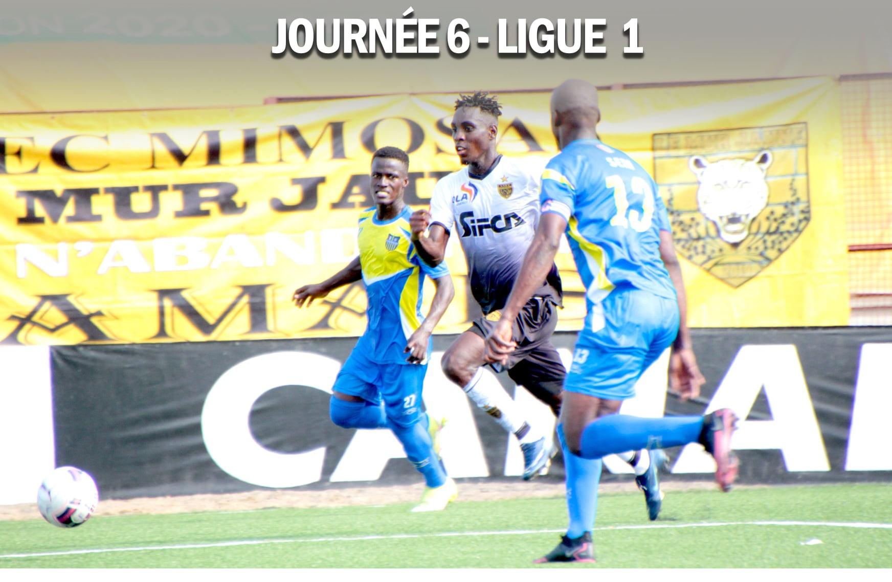 ligue-1-ivoirienne-resultats-et-classements-a-lissue-de-la-6e-journee