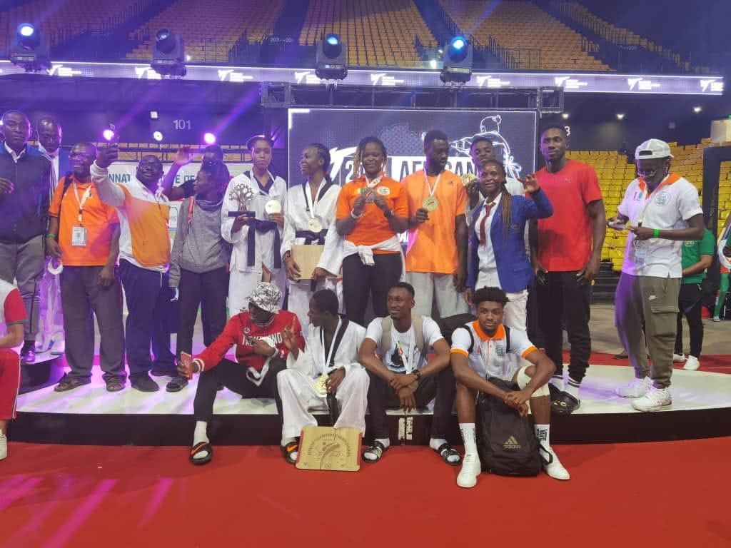 championnat-dafrique-de-taekwondo-moisson-fructueuse-pour-les-elephants-a-dakar