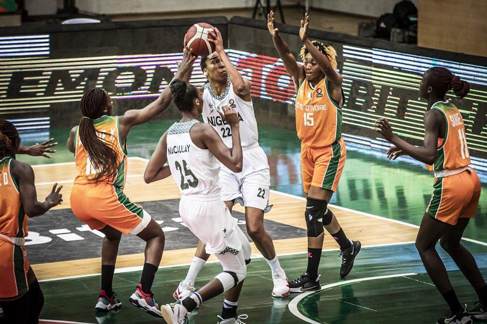 afrobasket-dames-2021-la-cote-divoire-tombe-devant-le-nigeria-en-quarts-de-finale