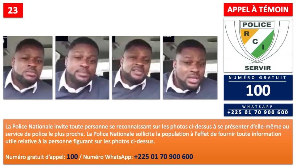 haine-ethnique-la-police-ivoirienne-lance-un-appel-a-temoin-contre-un-activiste