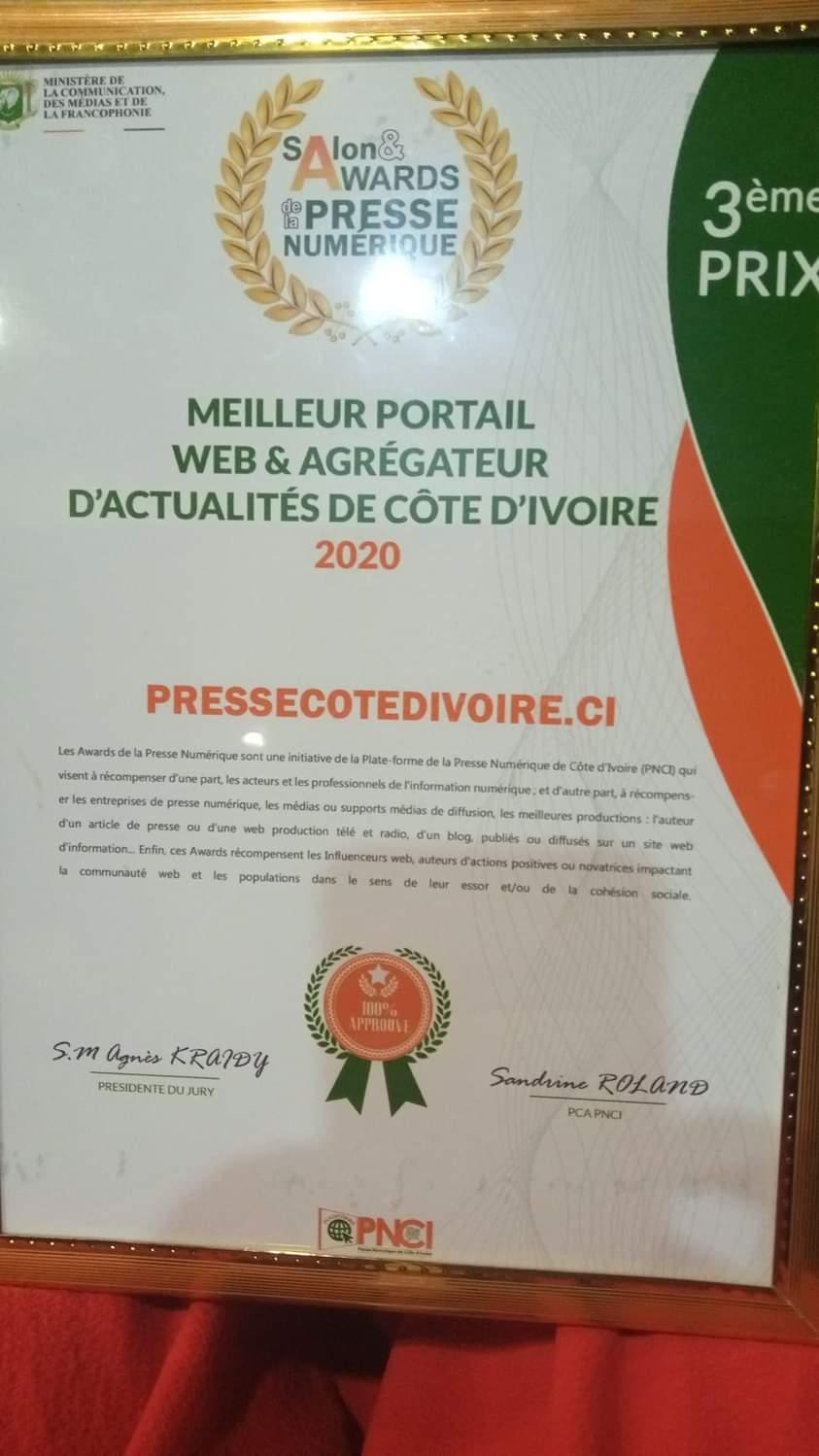distinction-pressecotedivoireci-3e-meilleur-portail-web-et-agregateur-dinformations-de-cote-divoire