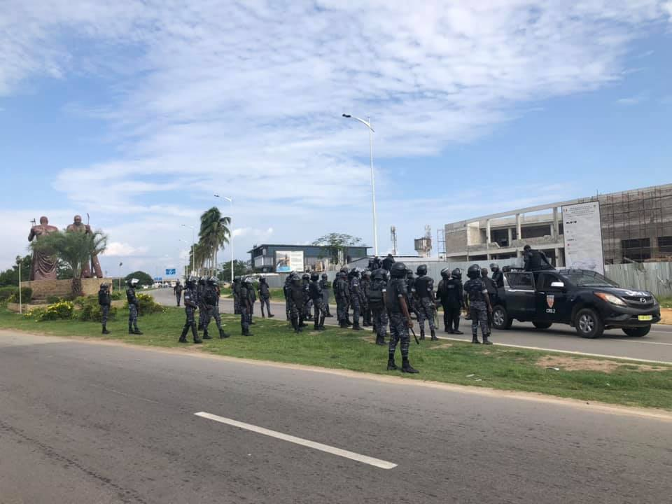 retour-de-gbagbo-un-important-dispositif-securitaire-deploye