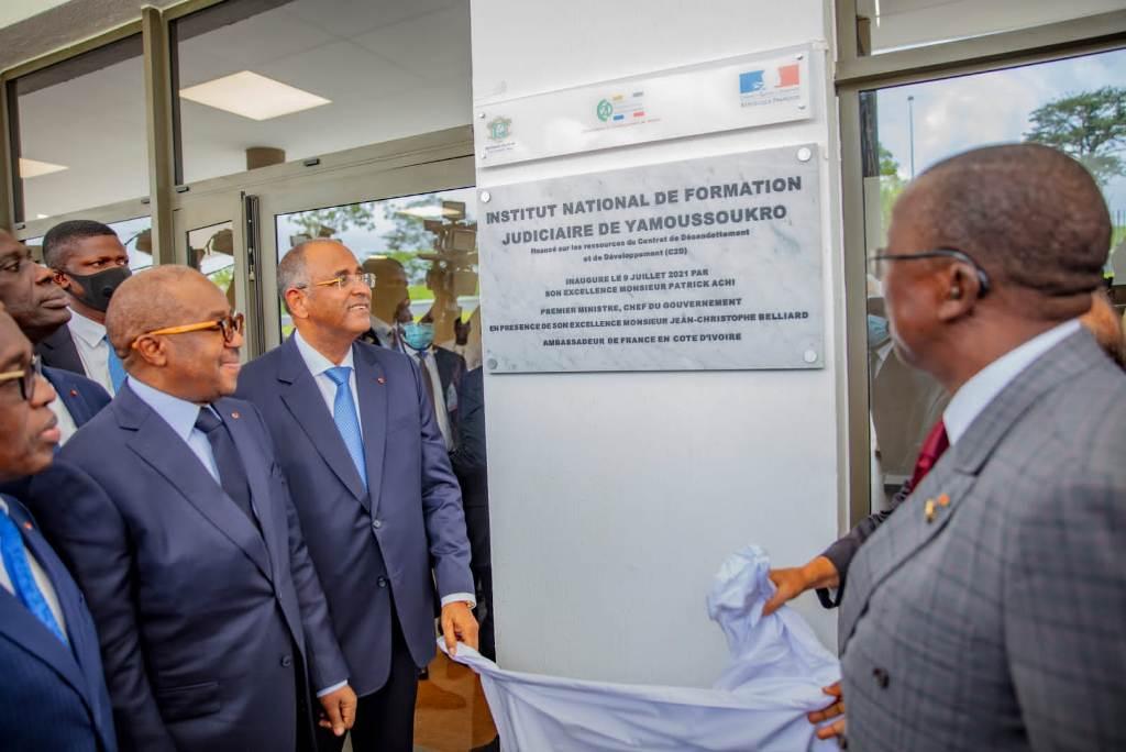 justice-patrick-achi-inaugure-les-nouveaux-locaux-de-linstitut-national-de-formation-judiciaire