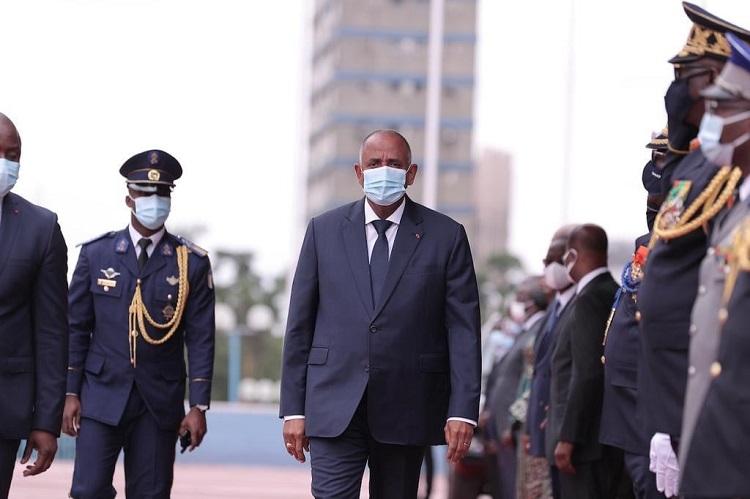 61e-anniversaire-de-lindependance-le-premier-ministre-patrick-achi-preside-la-ceremonie-de-prise-darmes