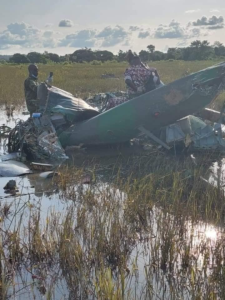 forces-armees-ivoiriennes-lhelicoptere-mi-24-perdu-a-ete-retrouve-photos
