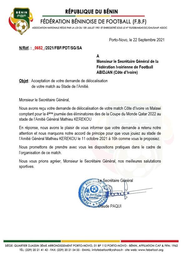eliminatoire-de-la-coupe-du-monde-2022-le-match-cote-divoire-malawi-se-jouera-finalement-au-benin